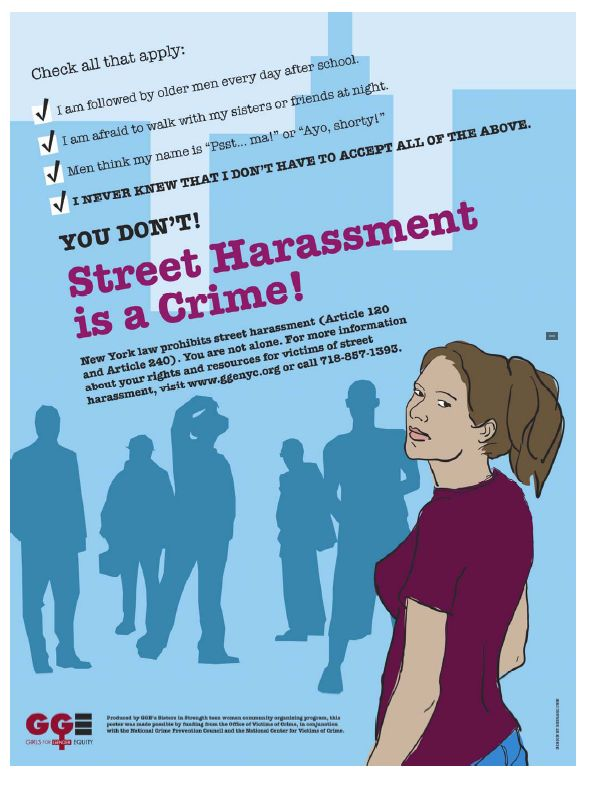 harassment cartoon leaflets three Anti-sexual